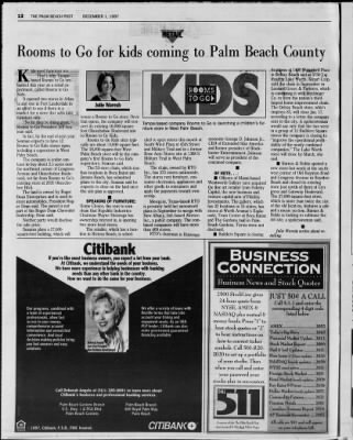 The Palm Beach Post from West Palm Beach, Florida on December 1, 1997 · Page 59