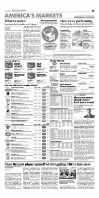 Democrat and Chronicle from Rochester, New York on October 21, 2015 · Page B5