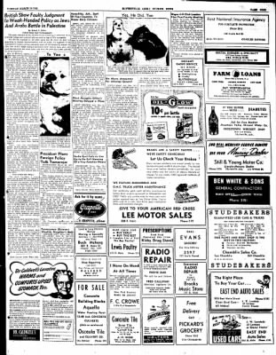 The Courier News from Blytheville, Arkansas on March 16, 1948 · Page 9