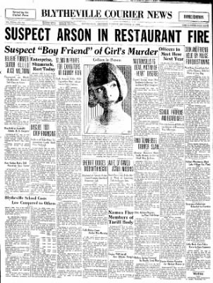 The Courier News from Blytheville, Arkansas on September 16, 1930 · Page 1