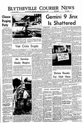 The Courier News from Blytheville, Arkansas on June 3, 1966 · Page 1