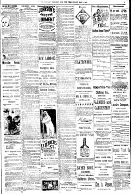 Newport Mercury from Newport, Rhode Island on May 9, 1891 · Page 5