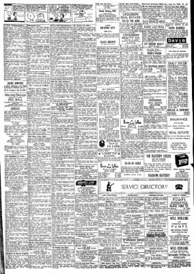 Northwest Arkansas Times From Fayetteville On August 31 1968 Page 13