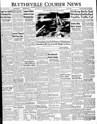 The Courier News from Blytheville, Arkansas on May 21, 1949 · Page 1