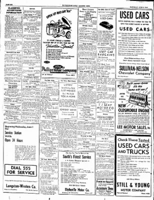 The Courier News from Blytheville, Arkansas on June 4, 1949 · Page 6