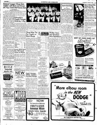 The Courier News from Blytheville, Arkansas on June 7, 1949 · Page 6
