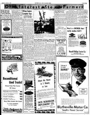 The Courier News from Blytheville, Arkansas on June 10, 1949 · Page 9