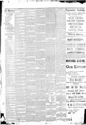 The Indiana Weekly Messenger from Indiana, Pennsylvania on October 3, 1883 · Page 5