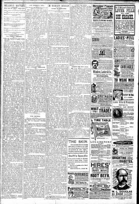 Logansport Pharos-Tribune from Logansport, Indiana on February 22, 1891 · Page 6