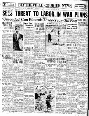 The Courier News from Blytheville, Arkansas on December 21, 1934 · Page 1