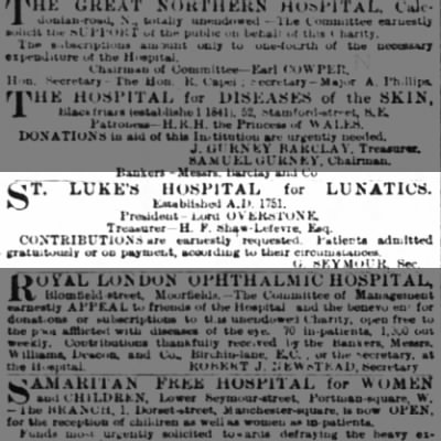 St. Luke's Hospital for Lunatics