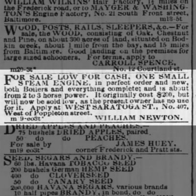 The Sun (Baltimore Maryland 21 Mar 1850
