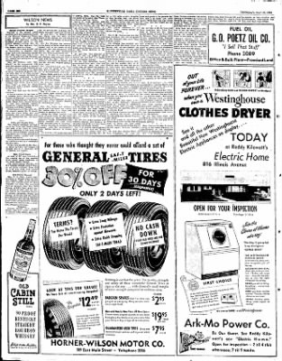 The Courier News from Blytheville, Arkansas on May 29, 1952 · Page 6