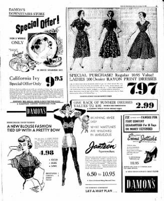 The Mason City Globe-Gazette from Mason City, Iowa on August 18, 1952 · Page 5