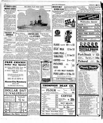 The Mason City Globe-Gazette from Mason City, Iowa on February 24, 1931 · Page 18