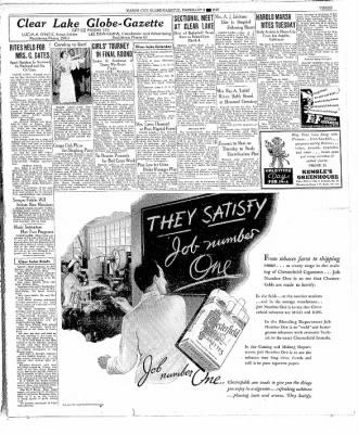 The Mason City Globe-Gazette from Mason City, Iowa on February 8, 1937 · Page 3
