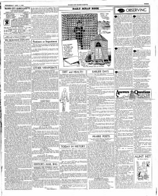 The Mason City Globe-Gazette from Mason City, Iowa on April 4, 1934 · Page 3