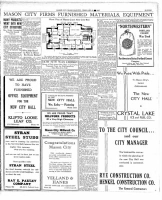 The Mason City Globe-Gazette from Mason City, Iowa on February 25, 1937 · Page 11