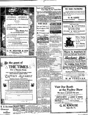 The Gettysburg Times from Gettysburg, Pennsylvania on December 30, 1913 · Page 4