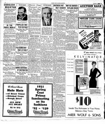 The Mason City Globe-Gazette from Mason City, Iowa on March 20, 1931 · Page 2