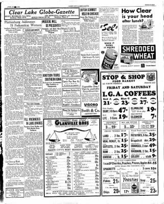 The Mason City Globe-Gazette from Mason City, Iowa on April 26, 1934 · Page 21