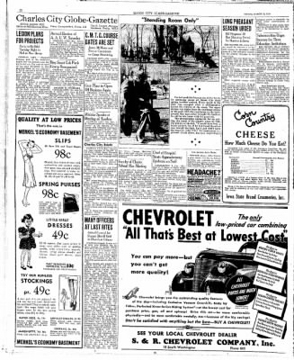 The Mason City Globe-Gazette from Mason City, Iowa on March 24, 1939 · Page 10