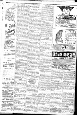 Logansport Pharos-Tribune from Logansport, Indiana on March 14, 1891 · Page 3