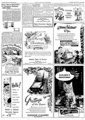 Logansport Pharos-Tribune from Logansport, Indiana on December 24, 1957 · Page 84