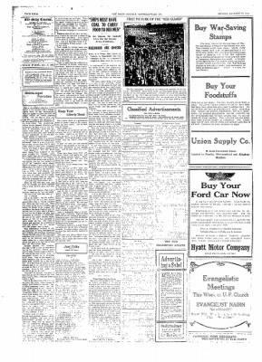 The Daily Courier from Connellsville, Pennsylvania on January 28, 1918 · Page 4