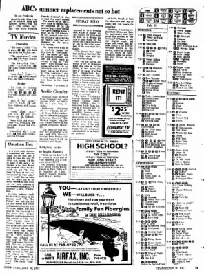 Sunday Gazette-Mail from Charleston, West Virginia on July 16, 1972 · Page 75