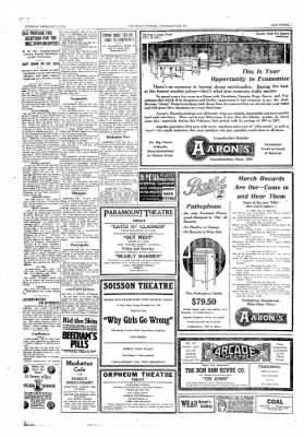 The Daily Courier from Connellsville, Pennsylvania on February 21, 1918 · Page 3