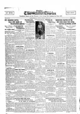 The Daily Courier from Connellsville, Pennsylvania on March 2, 1918 · Page 1