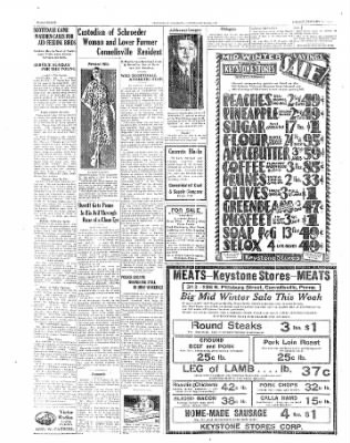 The Daily Courier from Connellsville, Pennsylvania on January 24, 1930 · Page 8