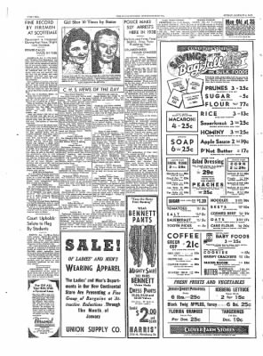 The Daily Courier from Connellsville, Pennsylvania on January 6, 1939 · Page 10