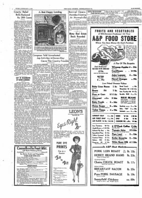 The Daily Courier from Connellsville, Pennsylvania on February 4, 1938 · Page 11
