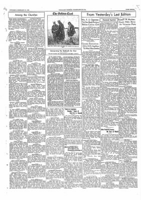 The Daily Courier from Connellsville, Pennsylvania on February 12, 1938 · Page 3