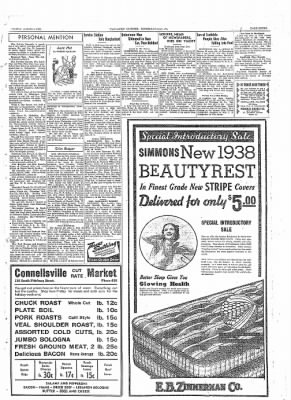 The Daily Courier from Connellsville, Pennsylvania on February 24, 1938 · Page 15