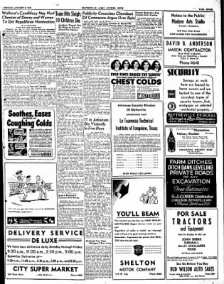 The Courier News from Blytheville, Arkansas on January 5, 1948 · Page 7