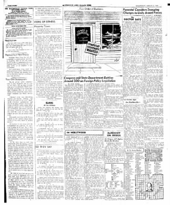 The Courier News from Blytheville, Arkansas on August 6, 1947 · Page 4