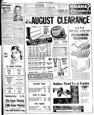 The Courier News from Blytheville, Arkansas on August 7, 1947 · Page 10
