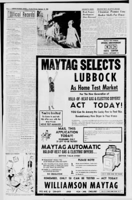 Lubbock Avalanche-Journal from Lubbock, Texas on September 15, 1966 · Page 6