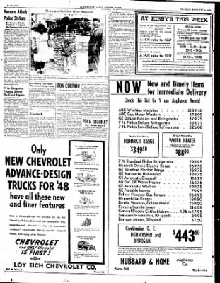 The Courier News from Blytheville, Arkansas on February 26, 1948 · Page 2