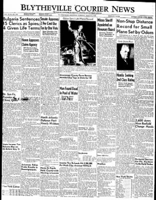 The Courier News from Blytheville, Arkansas on March 8, 1949 · Page 1