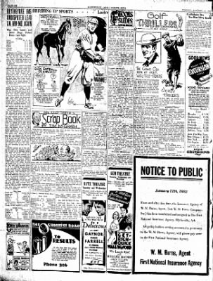 The Courier News from Blytheville, Arkansas on January 12, 1932 · Page 6