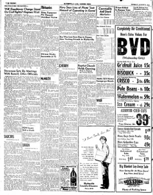 The Courier News from Blytheville, Arkansas on August 5, 1952 · Page 16