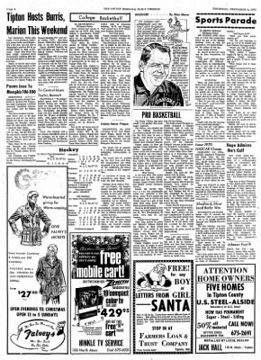 The Tipton Daily Tribune from Tipton, Indiana on December 3, 1970 · Page 4