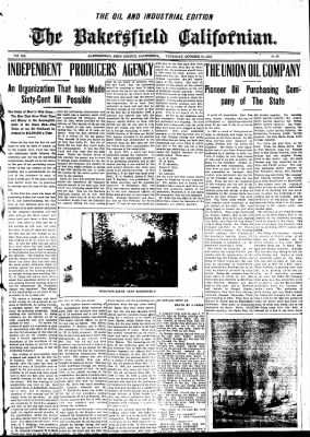 The Bakersfield Californian from Bakersfield, California on October 15, 1908 · Page 24