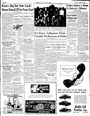 The Courier News from Blytheville, Arkansas on August 15, 1952 · Page 6