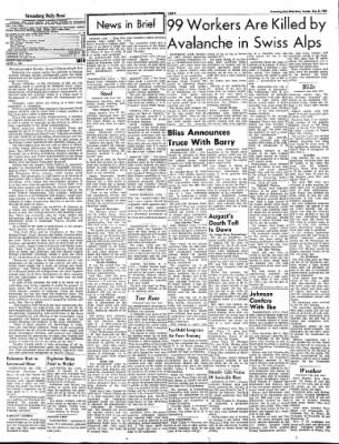 Greensburg Daily News from Greensburg, Indiana on August 31, 1965 · Page 6