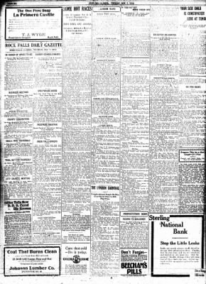 Sterling Standard from Sterling, Illinois on November 7, 1916 · Page 6